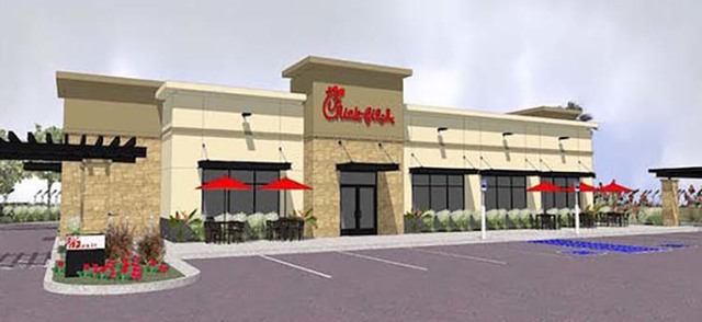 Rendering of Chick-fil-A restaurant in Henderson (Chick-fil-A)