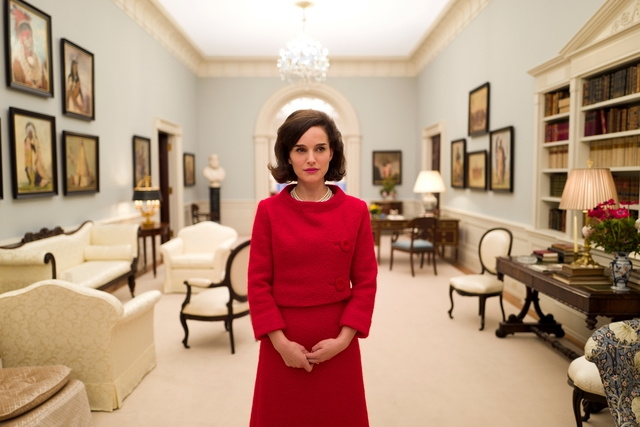 "Natalie Portman as ""Jackie Kennedy"" in JACKIE. Photo by Pablo Larraín. © 2016 Twentieth Century Fox Film Corporation All Rights Reserved"