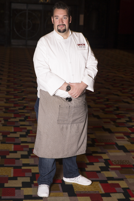 Michael Vignola, executive chef at the Strip House restaurant, poses at the Planet Hollywood hotel-casino on Thursday, Nov. 17, 2016, in Las Vegas. Erik Verduzco/Las Vegas Review-Journal Follow @E ...