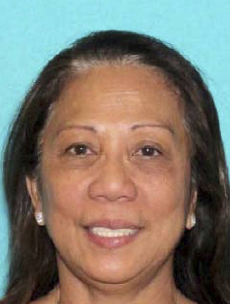 This undated photo provided by the Metropolitan Police Department shows Marilou Danley, the girlfriend of gunman Stephen Paddock. (Las Vegas Metropolitan Police Department via AP, File)