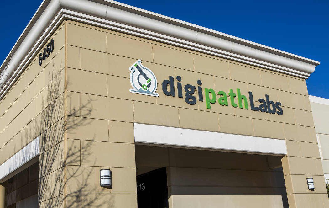 DigiPath Labs near Sunset Road and Decatur Boulevard in Las Vegas on Tuesday, Jan. 23, 2018.  Patrick Connolly Las Vegas Review-Journal @PConnPie
