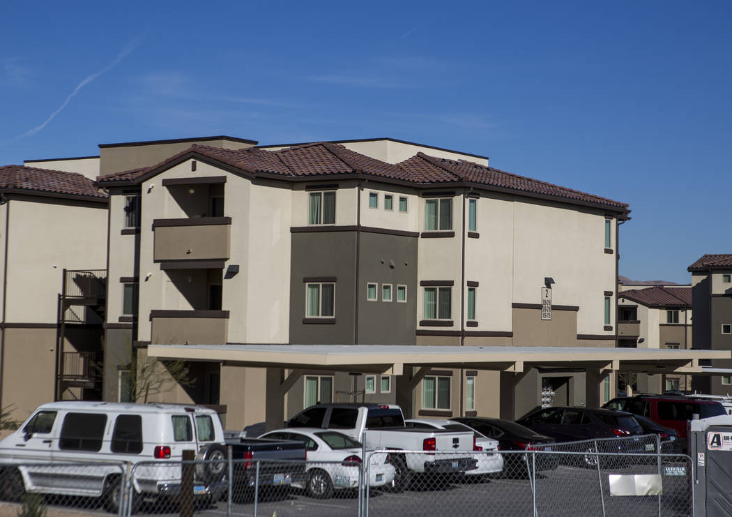 Boulder Pines Family Apartments on Boulder Highway in Las Vegas on Friday, Feb. 2, 2018.  Patrick Connolly Las Vegas Review-Journal @PConnPie