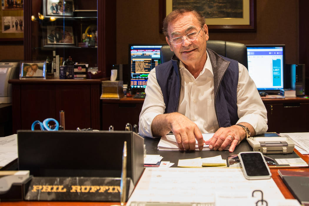 Phil Ruffin, owner of Treasure Island (Todd Prince/Review Journal Jan. 26)