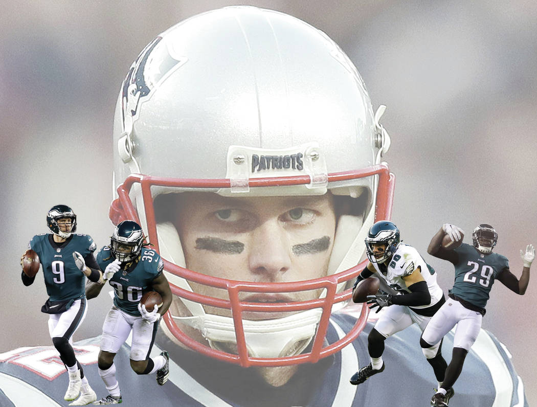 New England Patriots quarterback Tom Brady pumps his fist after a touchdown run by running back James White during the first half of the AFC championship NFL football game against the Jacksonville ...