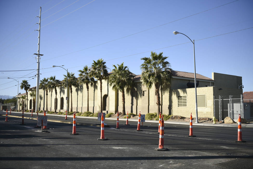A data center which was purchased as part of a $1 billion investment from Enron right before the energy company went bankrupt, in Las Vegas, Dec. 21, 2017. People associated with Switch founder Ro ...