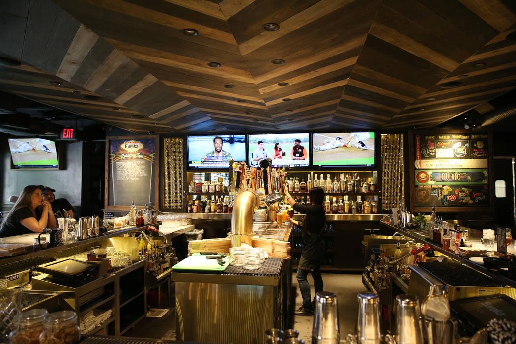 Eureka restaurant, 520 E. Fremont St., in Las Vegas, Wednesday, June 13, 2018. Erik Verduzco Las Vegas Review-Journal @Erik_Verduzco