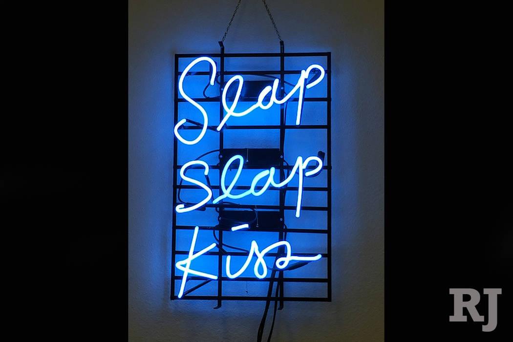 """Allison Wiese, """"Slap, Slap, Kiss,"""" Neon"""