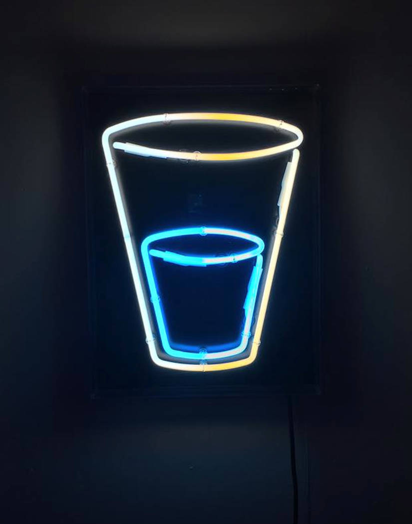 """Whitney Lynn, """"A Matter of Perspective,"""" Neon"""