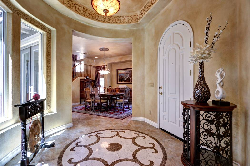 The foyer. (Lisa Paquette TourFactory)