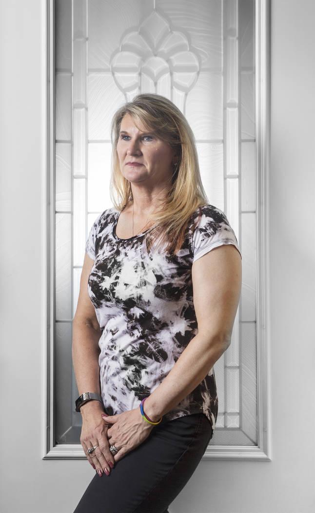 Anita Stephens at her home in Las Vegas on Thursday, June 21, 2018. Benjamin Hager Las Vegas Review-Journal @benjaminhphoto