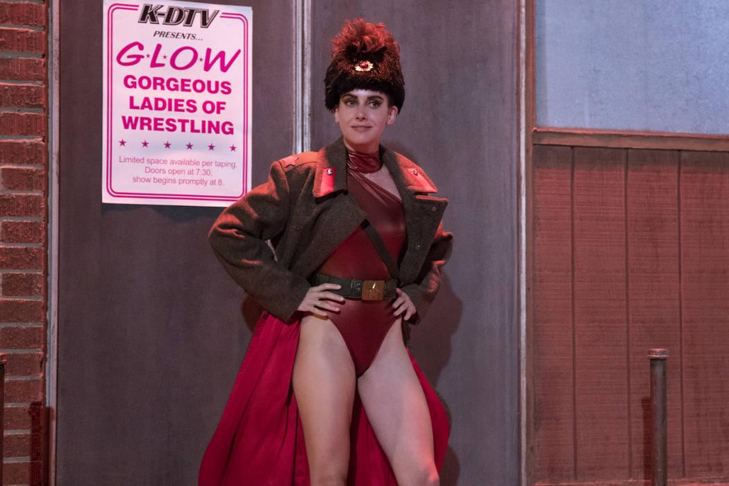 "Alison Brie stars in ""GLOW"" on Netflix. (Erica Parise/Netflix)"