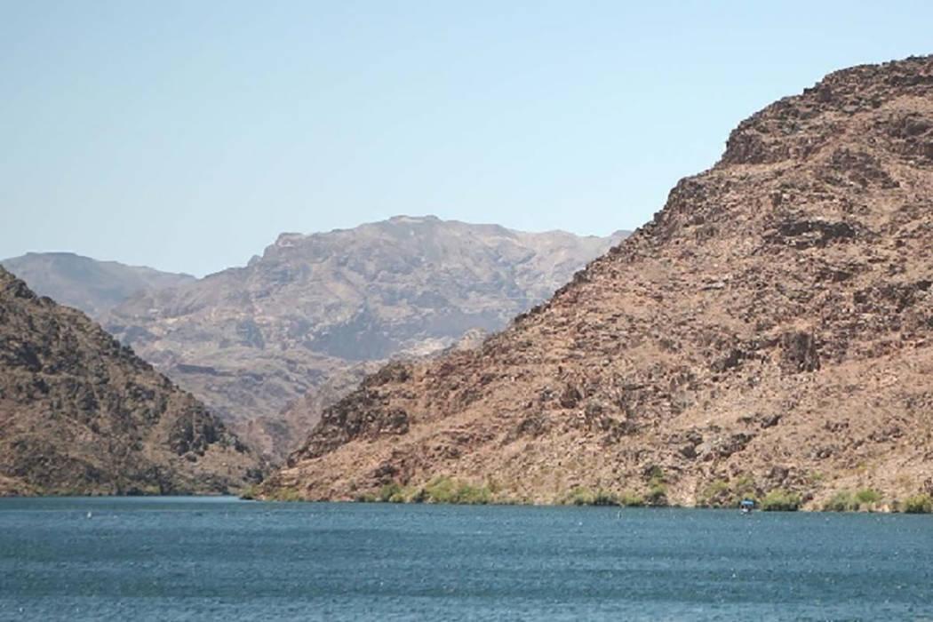 Lake Mohave is seen near Willlow Beach, Arizona (Las Vegas Review-Journal)