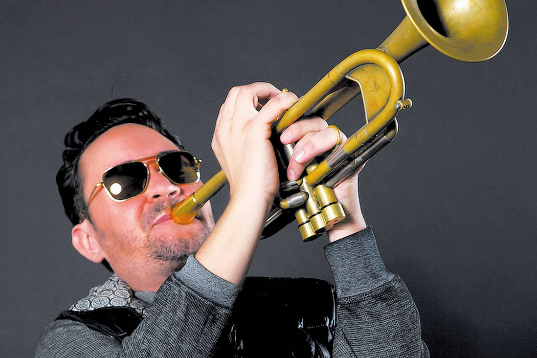 """Las Vegas trumpet great Joey Pero is a member of the Broadway musical """"Bandstand."""" (Audrey Dempsey)"""