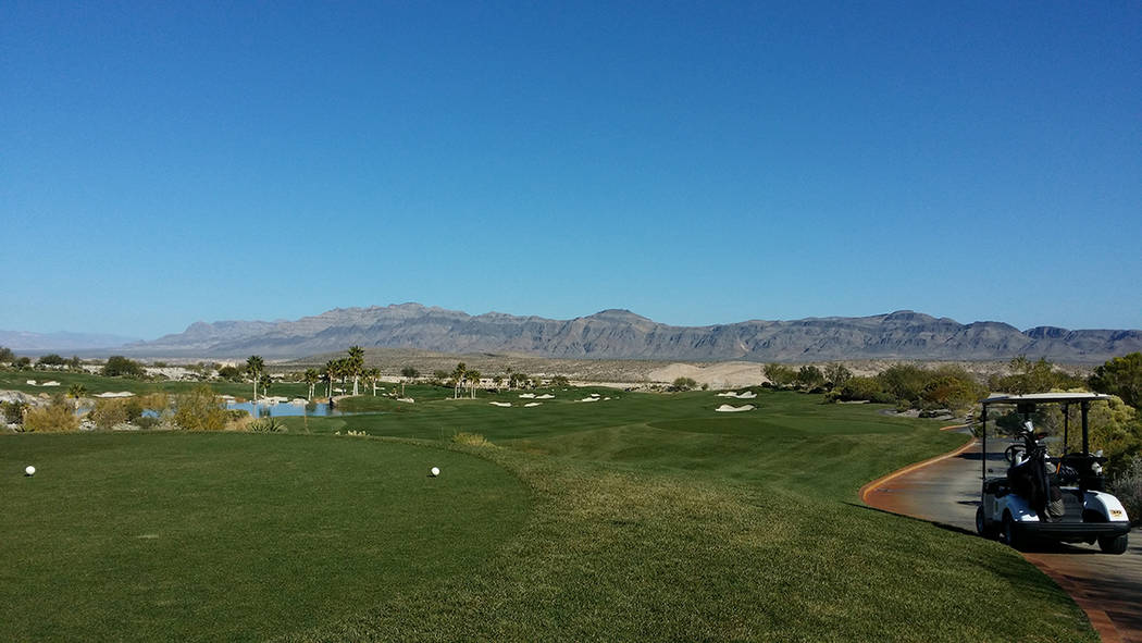 The Coyote Springs Golf Course. (Special to View)