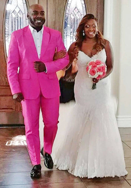 Darnell Morgan of Atlanta was attacked at the Hard Rock Hotel in Las Vegas on June 17 for being gay. He was visiting Las Vegas for the wedding of his sister, Jessyca Everhart. (courtesy of Darnell ...