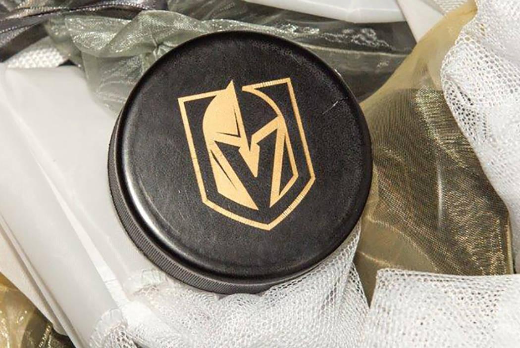 The Vegas Golden Knights logo (Tom Donoghue)