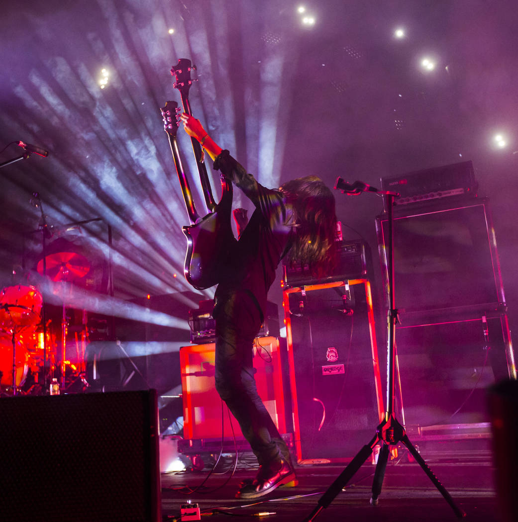 Takeshi of Boris performs at The Joint during the Psycho Las Vegas music festival at the Hard Rock Hotel in Las Vegas on Friday, Aug. 17, 2018. Chase Stevens Las Vegas Review-Journal @csstevensphoto