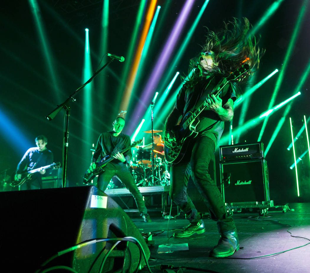 American Nightmare performs at The Joint during Psycho Las Vegas at the Hard Rock Hotel in Las Vegas on Saturday, Aug. 18, 2018. Chase Stevens Las Vegas Review-Journal @csstevensphoto