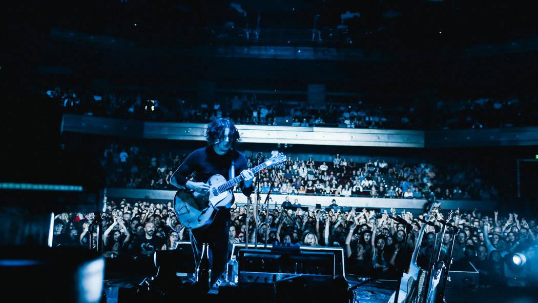 Jack White at The Chelsea at The Cosmopolitan of Las Vegas on Thursday. (David James Swanson)
