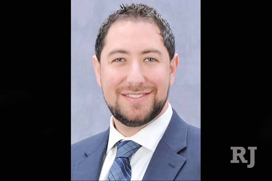 Michael Naft has been appointed to fill Gov. Steve Sisolak's seat on the Clark County Commission. (Michael Naft)