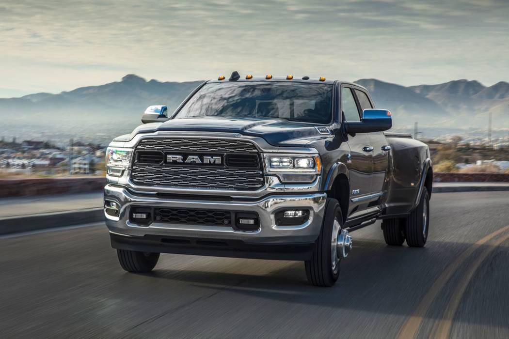 The 2019 Ram 2500 and 3500 arrive at Chapman dealerships this spring. (Ram)