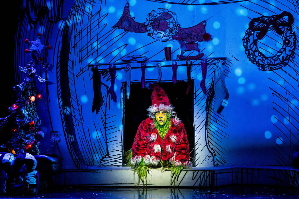 """""""Dr. Seuss' How the Grinch Stole Christmas! The Musical"""""""