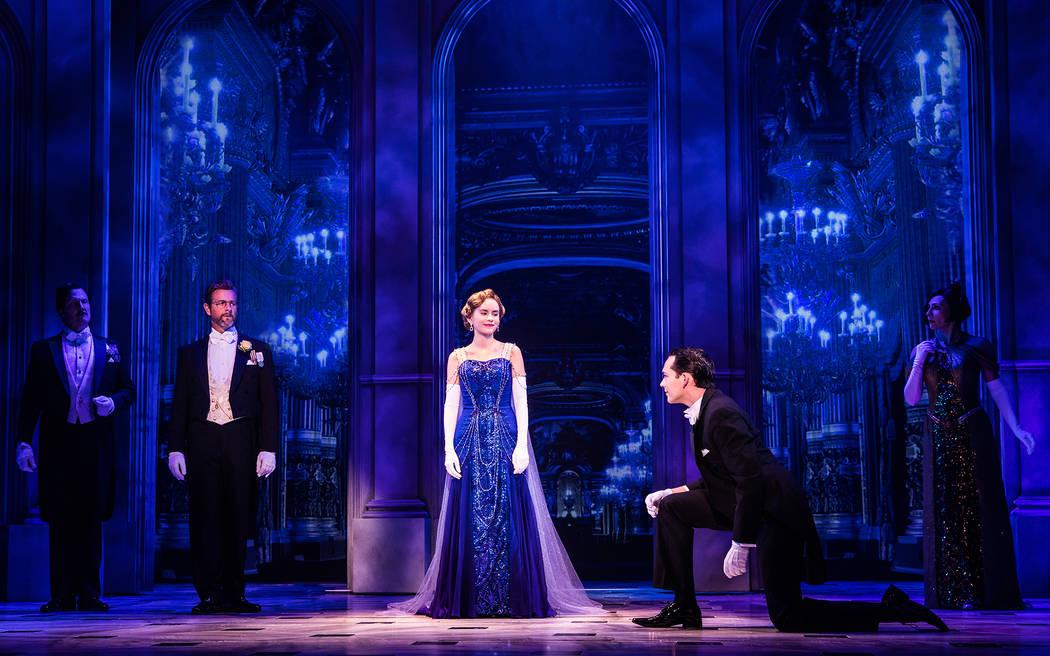 "The company of the national tour of ""Anastasia"" (Evan Zimmerman, MurphyMade)"