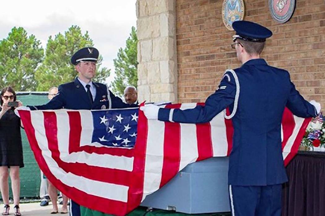 Joseph Walker, a Vietnam veteran, is buried in Killeen, Texas. More than 1,000 attended. (Facebook)