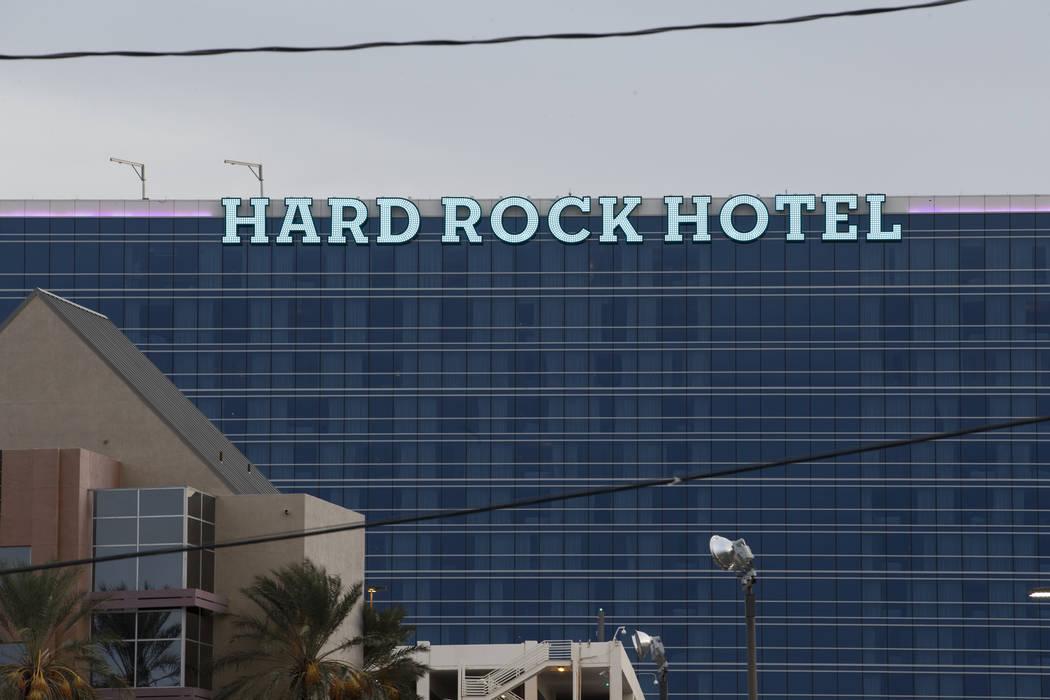 Hard Rock hotel-casino in Las Vegas, Friday, Jan. 19, 2018. (Erik Verduzco/Las Vegas Review-Journal) @Erik_Verduzco