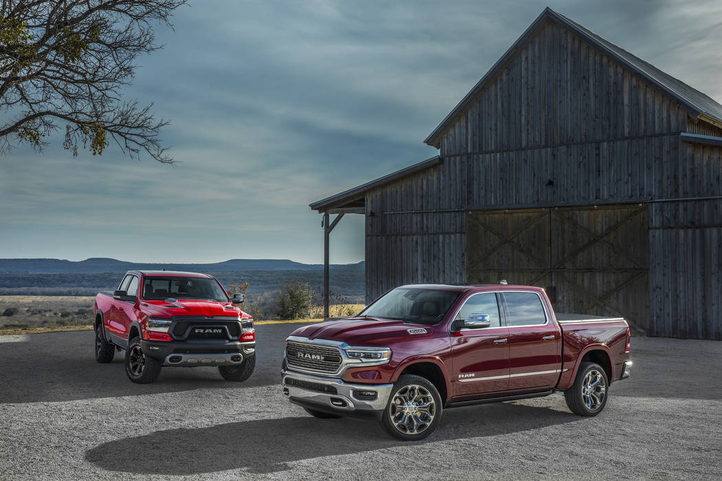 The all-new Ram 1500 has been named 2019 North American Truck of the Year by a panel of automotive experts. The announcement was made at the North American International Auto Show in Detroit. (FCA)