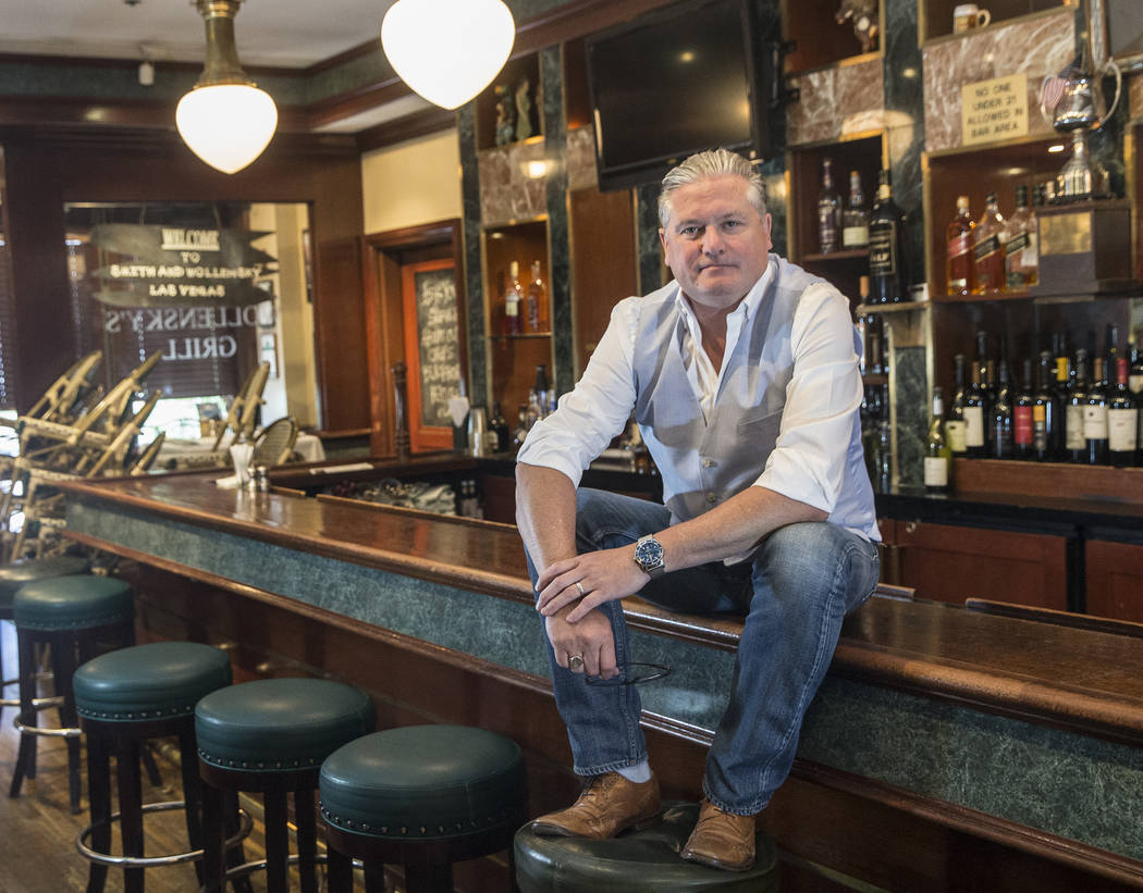 Smith & Wollensky CEO Michael Feighery at the iconic Las Vegas Strip steakhouse on Friday, ...