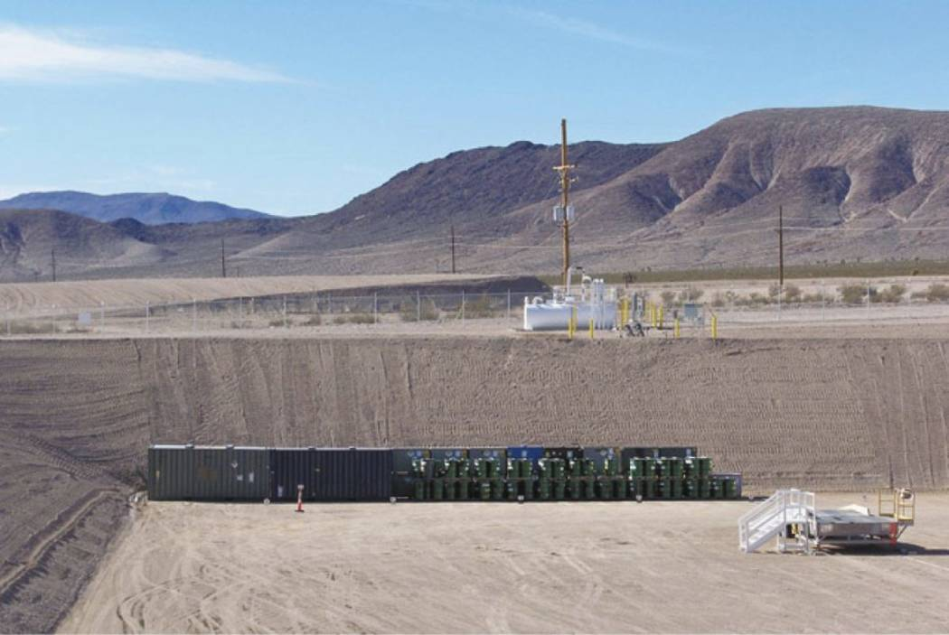 A half-metric ton of weapons-grade plutonium was secretly shipped from South Carolina to the Nevada National Security Site, located about 65 miles northwest of Las Vegas. (Department of Energy)