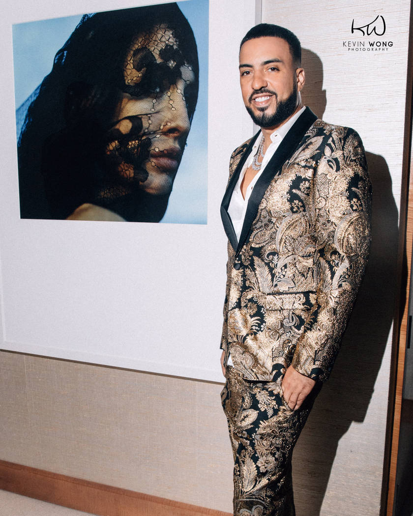 French Montana is the man at the helm at Drai's Nightclub, having signed a two-year deal to perform at the club at the Cromwell and also in Dubai. (Kevin Wong Photography)