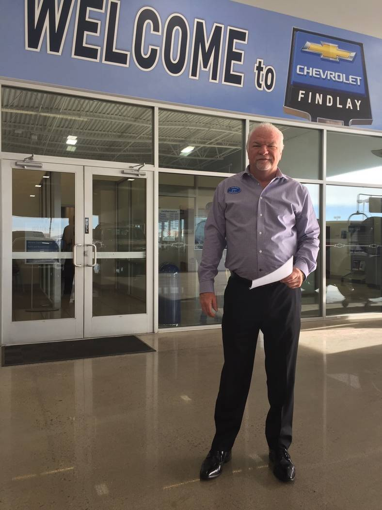 Findlay Chevrolet fixed operations director Tony Smith is a 14-year veteran of the dealership s ...