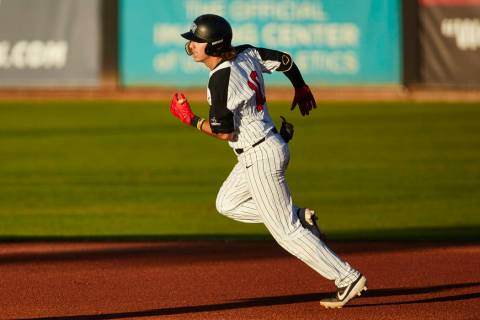 UNLV shortstop Bryson Stott, shown last month, batted .356 this season with a .486 on-base perc ...