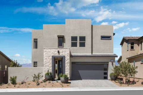 Shown is the Plan One model at Pardee Homes' Indigo in North Las Vegas, just off the 215 Belt ...