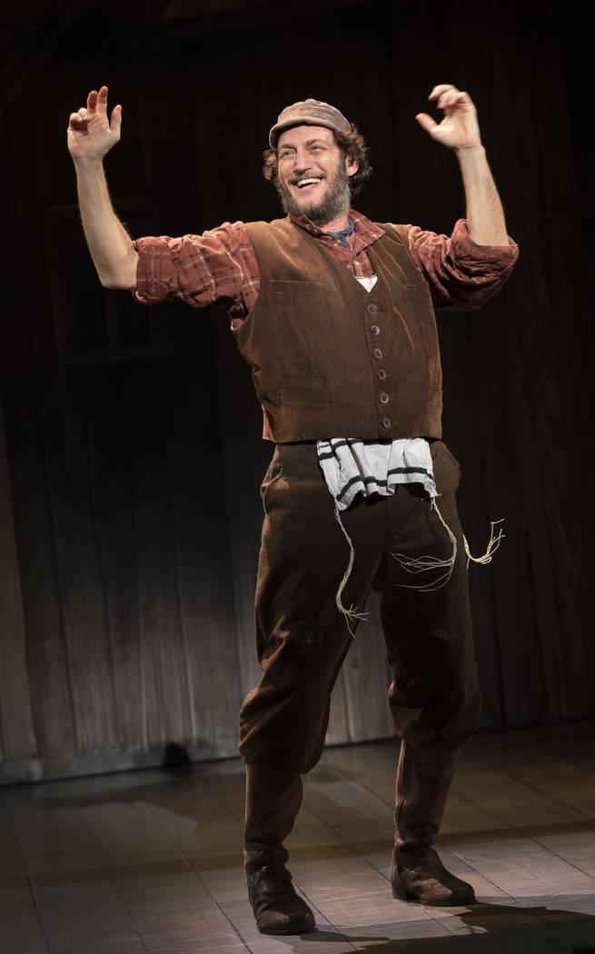 "Yehezkel Lazarov as Tevye in ""Fiddler on the Roof."" (Joan Marcus)"