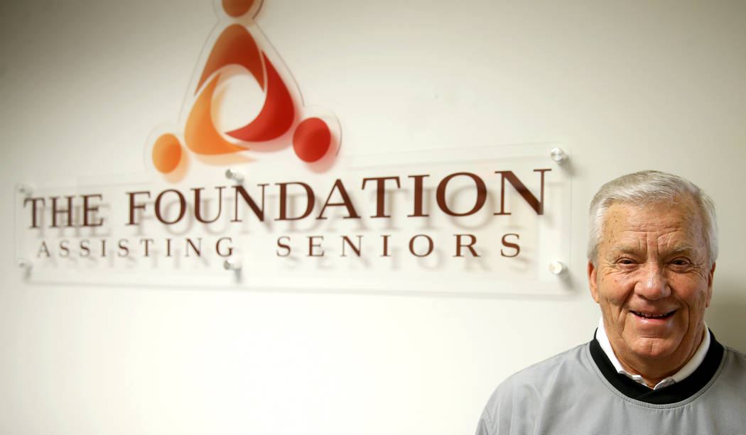 Favil West is co-founder of Foundation Assisting Seniors, a Henderson nonprofit. (K.M. Cannon/L ...