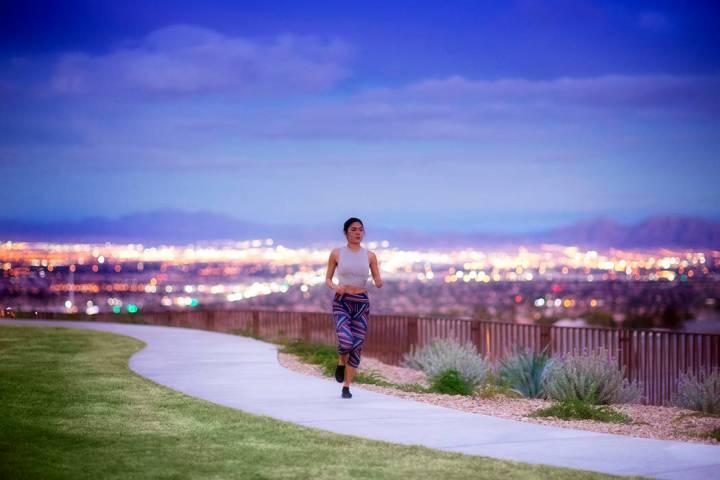 Spanning more than 150 miles, the award-winning Summerlin Trail system links neighborhoods, par ...