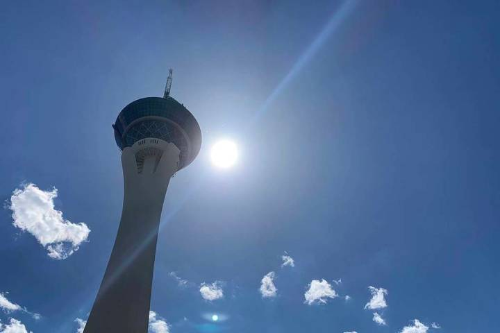 Las Vegas Valley temperatures will continue to warm up this week, reaching 101 ion Wednesday, a ...