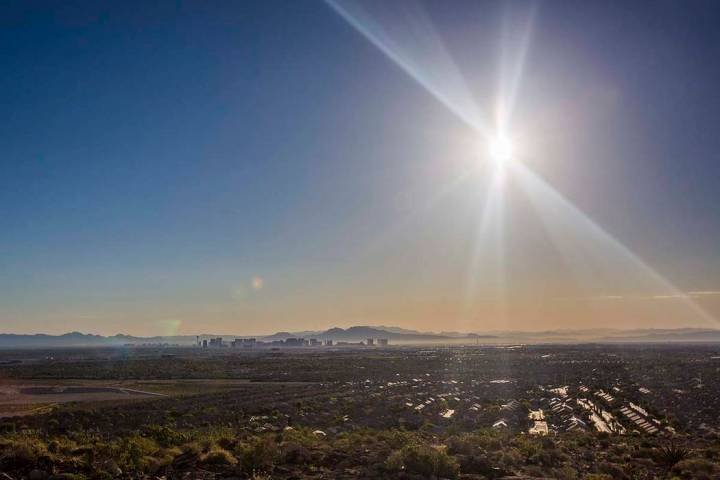 An excessive heat warning will be in effect Tuesday and Wednesday in the Las Vegas Valley. It c ...