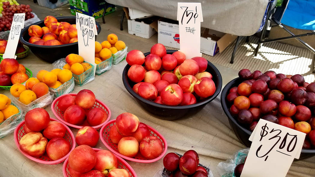 Fruit is seen at the Water Street market. (Natalie Burt)