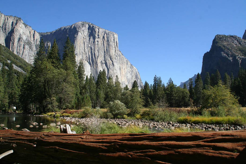 El Capitan is a 3,000 foot high granite monolith that is extremely popular with climbers. Debor ...