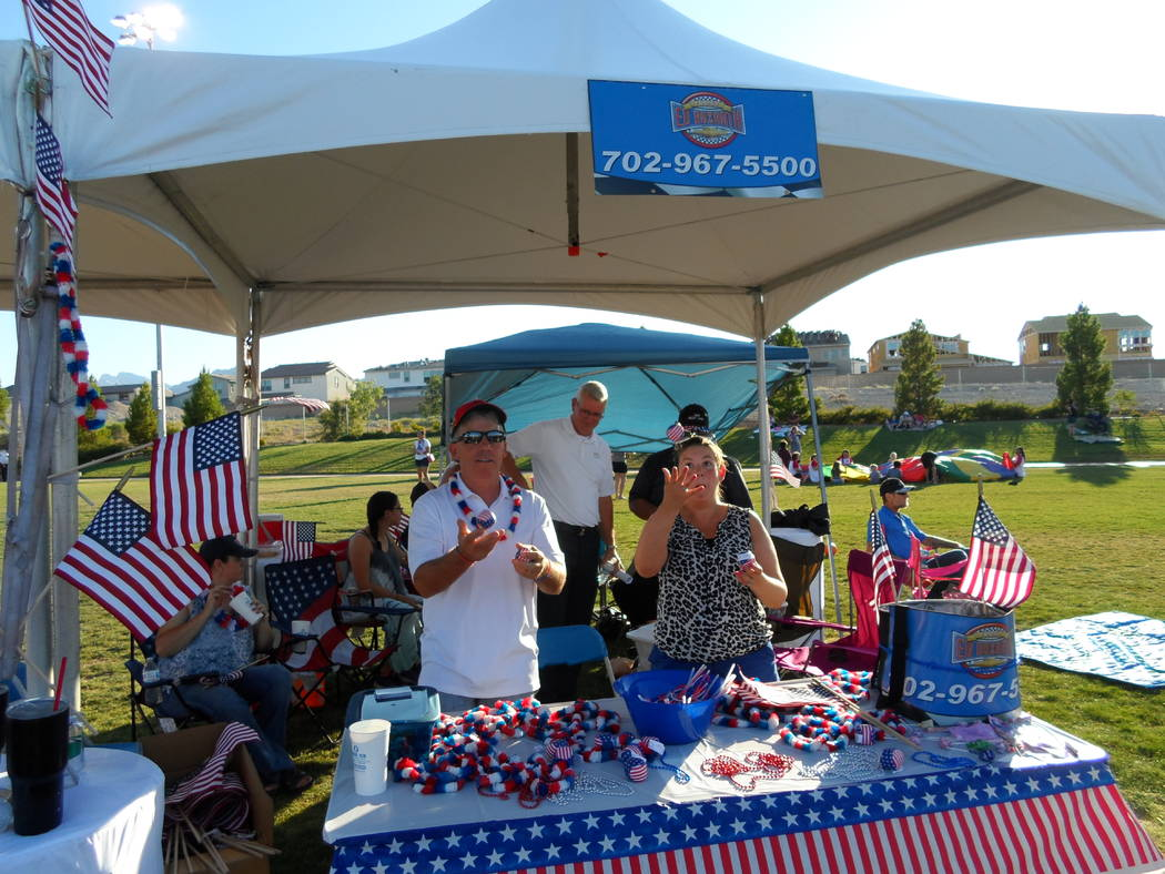The Ed Bozarth Nevada booth; with Vegas Valley Vettes