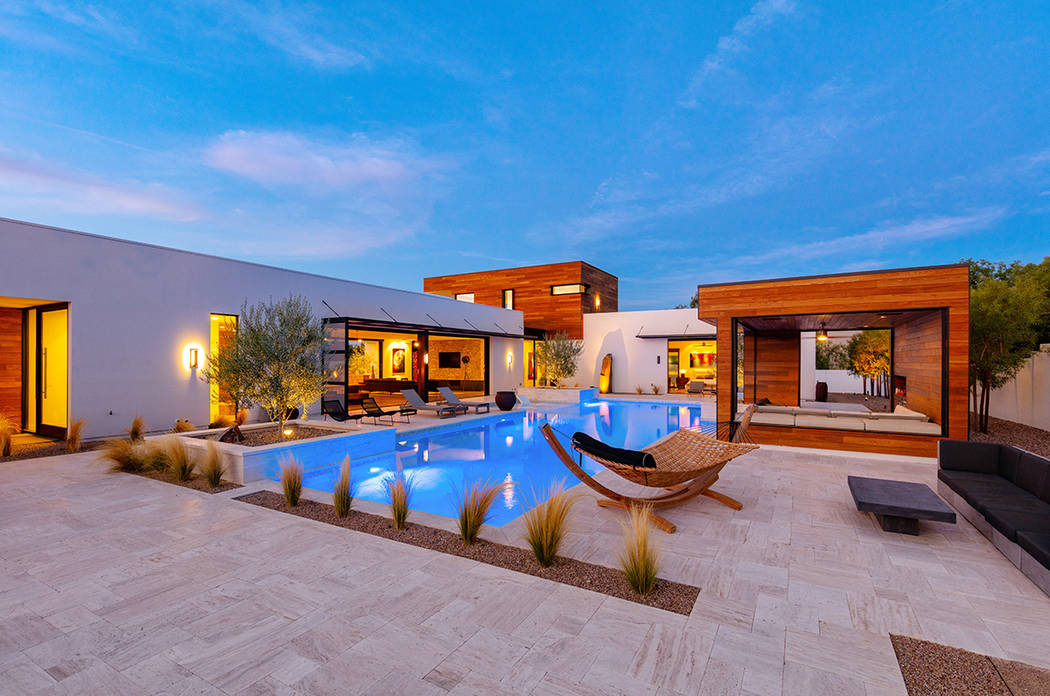 This rendering shows the Milos model in Jewel Homes, a luxury home community. (Jewel Homes)
