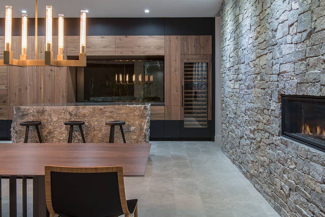 Using stone, steel and wood, architect Eric Strain provides a connection to the natural environ ...