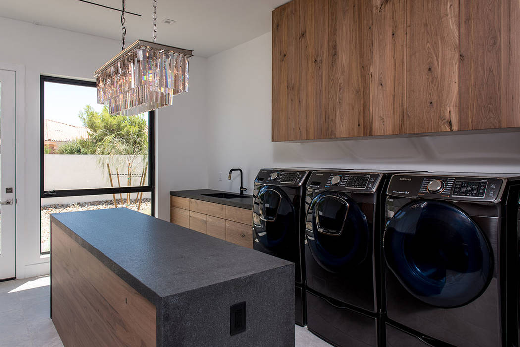 The laundry. (Jewel Homes)