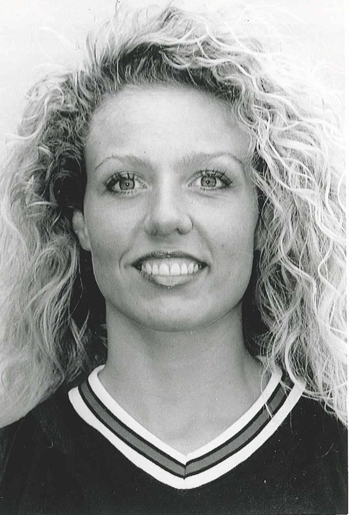 Former UNLV two-sport athlete LeAnn (Kazmer) Golembiewski died on Saturday at 45. Photo courtes ...