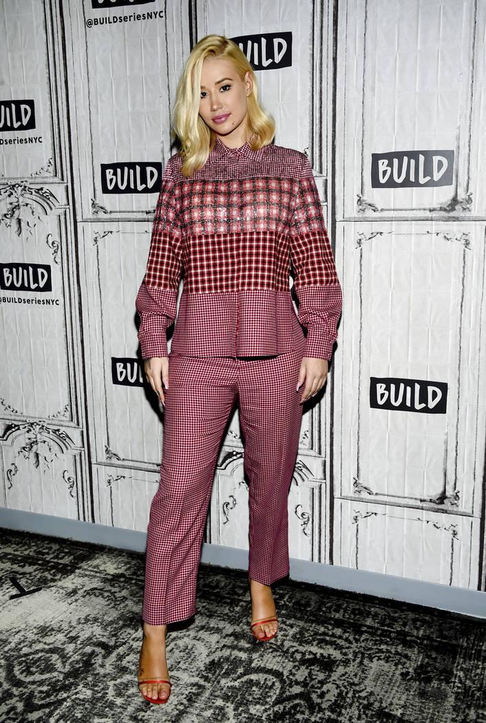 """Singer Iggy Azalea participates in the BUILD Speaker Series to discuss her new album """"Surv ..."""