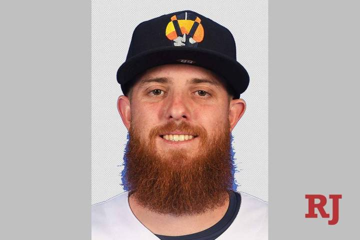 Paul Blackburn of the Las Vegas Aviators (Review-Journal)